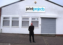 Print Projects Northampton. Unit 5 Rothersthorpe Avenue